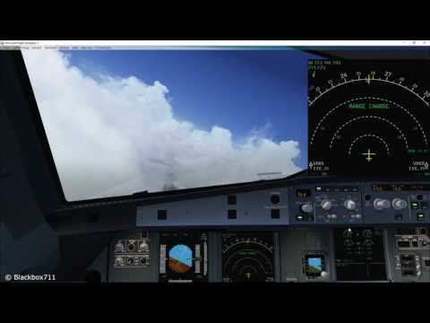 FSLabs A320-X Basics: Using the Weather Radar System - YouTube