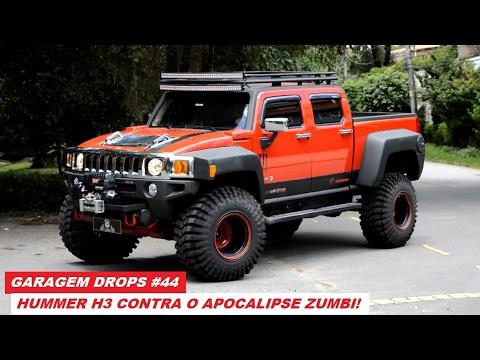 Jeep 4x4 2017 >> Garagem Drops #44: Hummer H3 recebe kit de suspensão e estilo invocado - YouTube