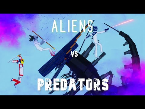 Aliens vs Predators (AVP) in People Playground 1.9.5 |