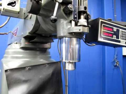 Clausing-Kondia Variable Speed Vertical Milling Machine FV-1 Reliable Tools