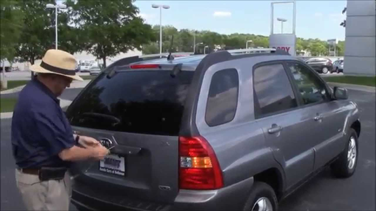Used 2005 Kia Sportage Ex 4wd For At Honda Cars Of Bellevue An Omaha Dealer