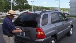Used 2005 Kia Sportage EX 4WD for sale at Honda Cars of Bellevue...an Omaha Honda Dealer!
