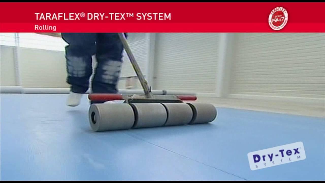 gerflor] taraflex, drytek ed ecofit: posa su sottofondi umidi