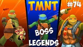 Черепашки-Ниндзя: Легенды. Прохождение #74 Mikey and Leo vs Bosses (TMNT Legends IOS Gameplay 2016