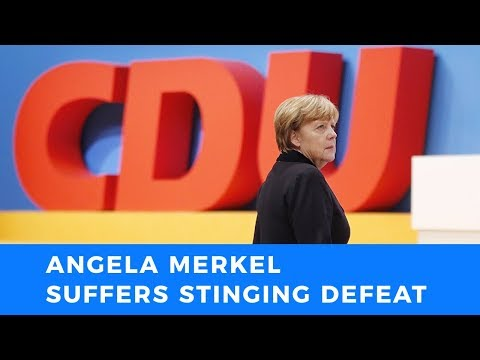 Angela Merkel suffers stinging defeat in CDU vote