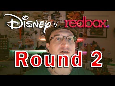 Disney Tries Again to Stop Redbox Selling Digital Codes