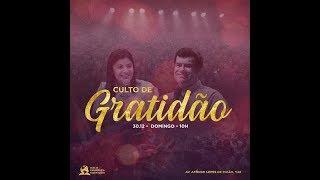 Culto de Gratidão - Ap. André | 30/12