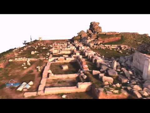 3d model of iznik Ancient Roman Theatre, Turkey
