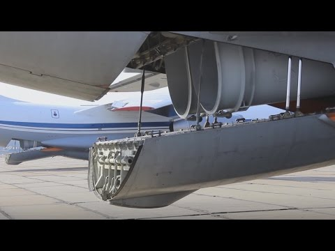 Fire extinguishing IL-76's in action (Raw Footage)