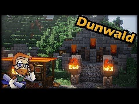 Let's Build A Dwarven Town :: DWARVEN FORGE #3 Minecraft 1.12 Timelapse