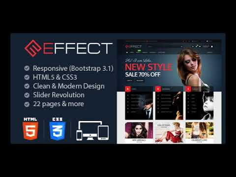 Best Five HTML Template For Ecommerce Store