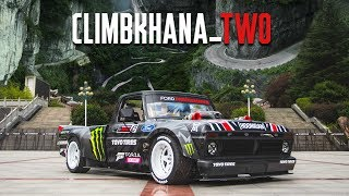 Фото Ken Block's Climbkhana TWO: 914hp Hoonitruck On China's Most Dangerous Road; Tianmen Mountain