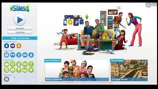 Sims 4 ve tüm paketlerinin kurulumu+Parenthood bekleme ekranı+unable to start hatası