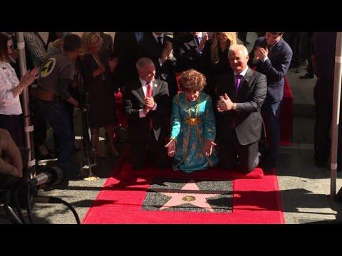 Hollywood honors Italian star Gina Lollobrigida