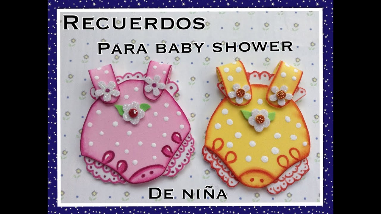 Decoración Y Adornos Para Baby Shower En Foami