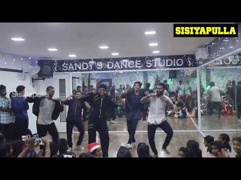 SANDY MASTER DANCE   Christmas Celebration   SDS Kodambakkam   Mr Madras   Sisiyapulla