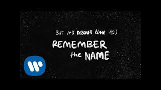 Ed Sheeran Remember The Name (feat. Eminem & 50 Cent) [Official Lyric ]