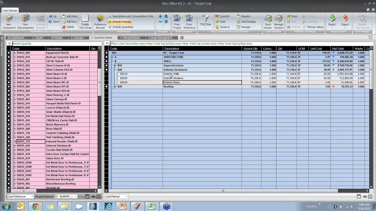 how to make quantity schedules