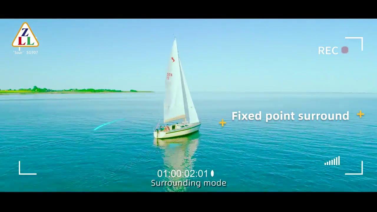 JZB SG907 GPS Drone Wifi FPV 1080P 4K HD Dual Camera Optical Flow RC Quadcopter фото