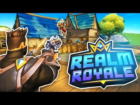 My First REALM ROYALE Gameplay w/ FaZe Cloakzy