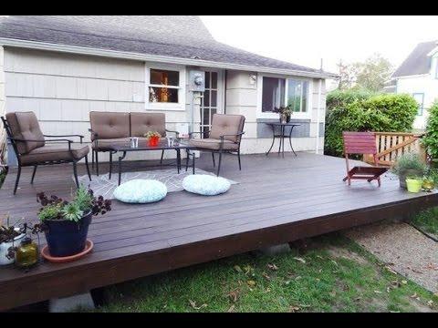 garten terrasse selber bauen terrasse bauen youtube. Black Bedroom Furniture Sets. Home Design Ideas