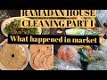 RAMADAN CLEANING PART 1 || What happened in hypermarket || PAKISTANI YOUTUBER