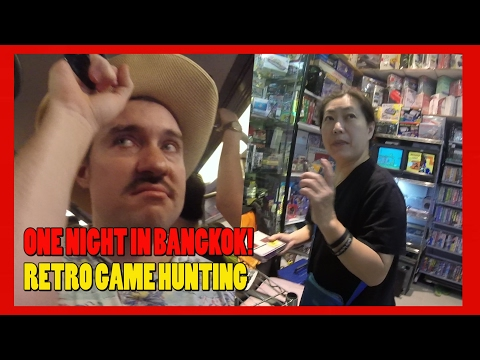 My Epic Journey To A Retro Game Store in Bangkok, Thailand!