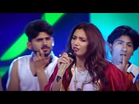 Mahira khan rap and Dance 2017