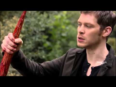 The Originals 1x7 Tyler and Klaus fight