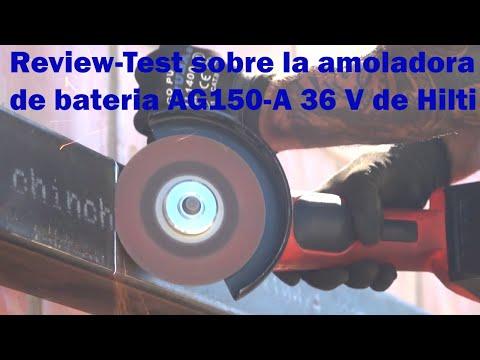 Amoladora a bateria Hilti (36V) by Antonio Hernández.