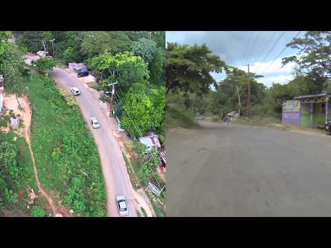 Aerial UAV & Ground Pre-Survey of Road Construction Works