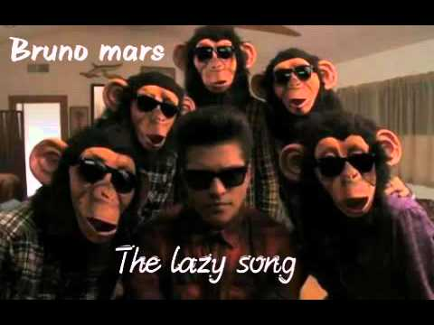 Bruno Mars The Lazy Song Youtube
