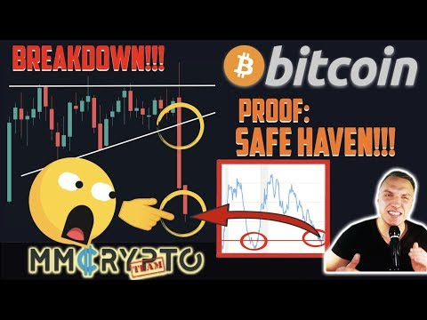 OHHH!! BITCOIN BREAKDOWN & PROOF: IT IS A SAFE HAVEN!! FINANCIAL CRISIS CONFIRMED!!!