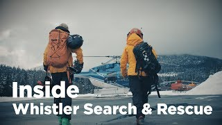 Inside Whistler's Search and Rescue