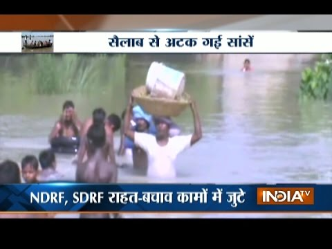 Flood situation remains grim in MP, Bihar, UP