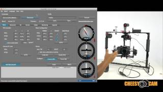 Varavon Birdycam 3 Axis Gimbal PID Tuning for Lightweight Cameras GH4