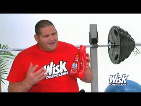 Rulon Gardner, Gold Medalist Wrestler, why he chooses Wisk Deep Clean Detergent