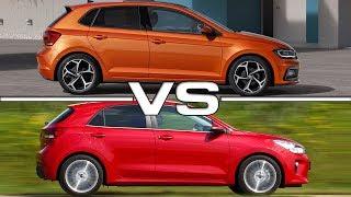 Video 2018 Volkswagen Polo vs 2017 Kia Rio download MP3, 3GP, MP4, WEBM, AVI, FLV Oktober 2018