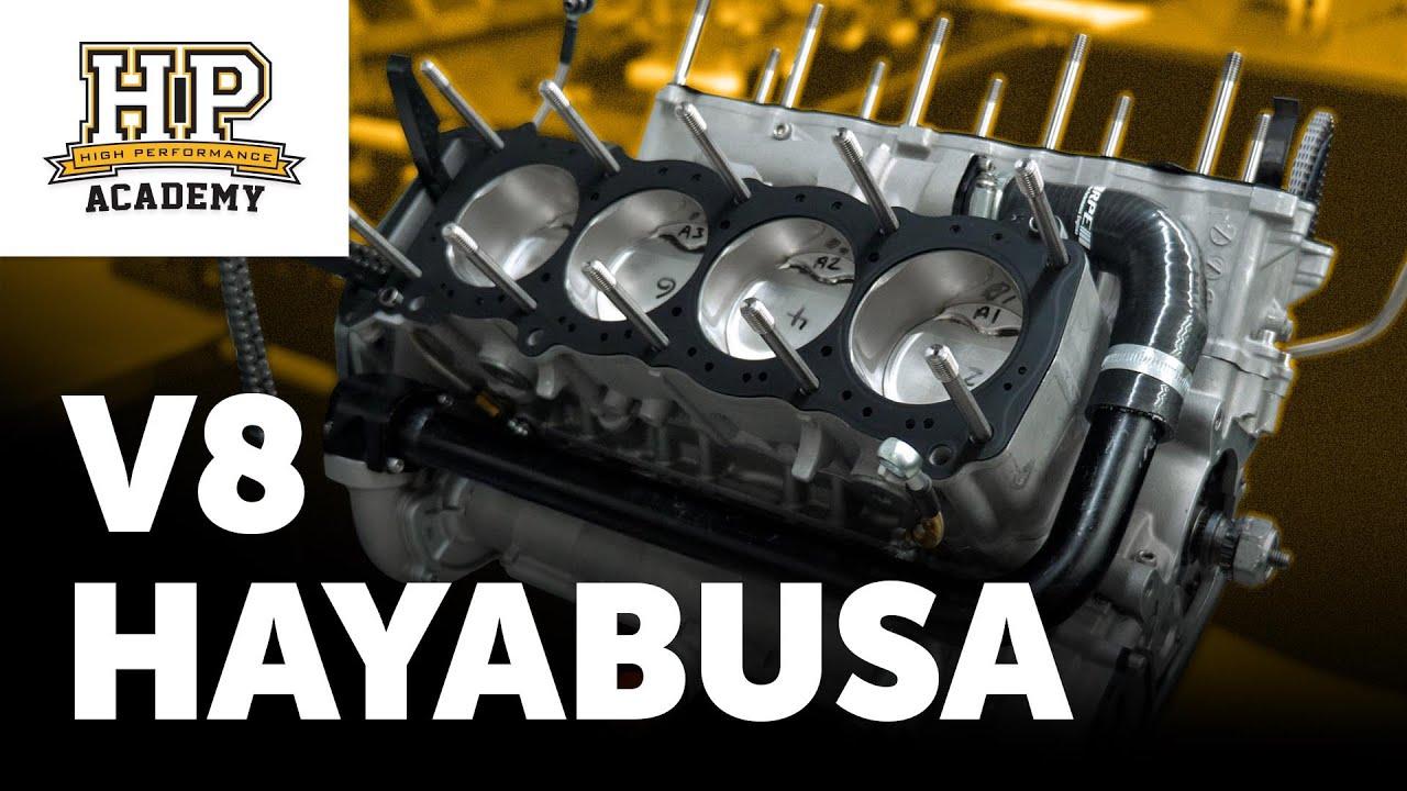 Download 105kg, 500HP, 10,500RPM 'Hayabusa' V8   Radical Sportscars RPE-V8 [TECH TALK]