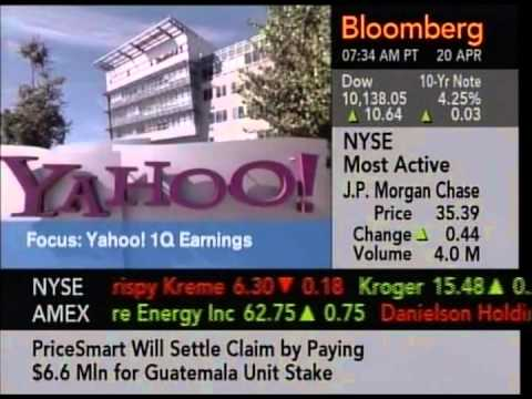 Yahoo! Earnings interview - Bloomberg Q1'05