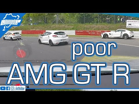 sad AMG GT R Crash :-/ .. and another Cupra-Megane Session ..  Nürburgring Nordschleife 2,7K