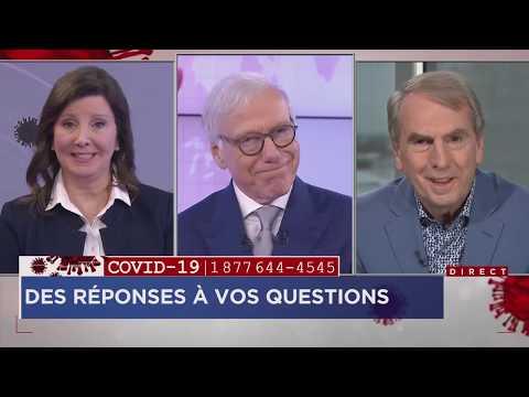 Coronavirus: Des experts répondent à vos questions 19 mars 2020