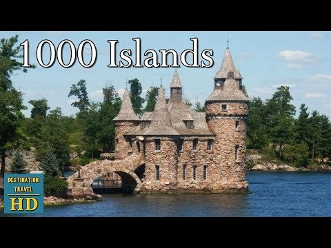 1000 Islands St Lawrence River Canada Usa Youtube