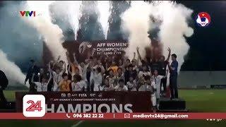 Hướng đi và sự quan tâm cho bóng đá nữ Việt Nam   VTV24