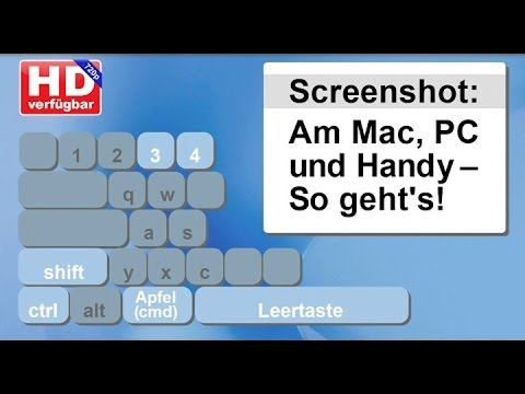 Screenshot Mac So Macht Man Ein Bildschirmfoto Video