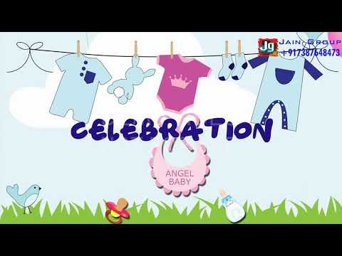 Baby Shower Invitation Video For Whatsapp | Godbharai Rashm Nimantran | PC - 0059