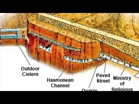 Exposing the Western Wall Tunnels, the Old City of Jrerusalem. Tour Guide: Zahi Shaked
