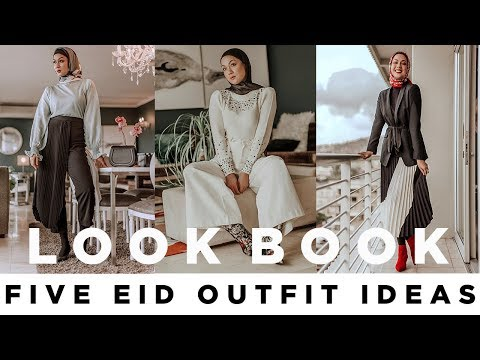 Eid Lookbook - 5 Outfit Ideas!