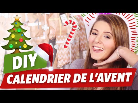 diy calendrier de l 39 avent youtube. Black Bedroom Furniture Sets. Home Design Ideas