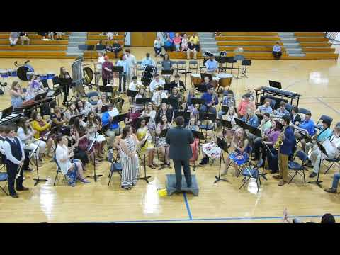 Tishomingo County High School Band 2019 Spring Concert